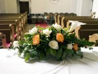 Foto einer Hochzeitsblumen
